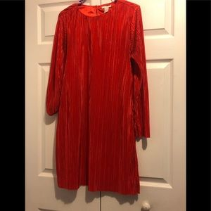 H&M red dress size M